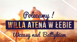 willa Atena w Łebie baner
