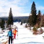 """""""Spacer w chmurach""""(dla miłośników spacerów) oferta ski tour szkoła Na Krawędzi Karpacz"""