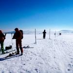 """""""Śladami Czeskich Komandosów"""" ski tour Na Krawędzi Karpacz"""