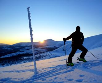 ski touring i Karkonosze
