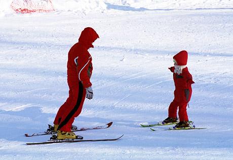 szkoła na krawędzi lekcje jazdy na nartach